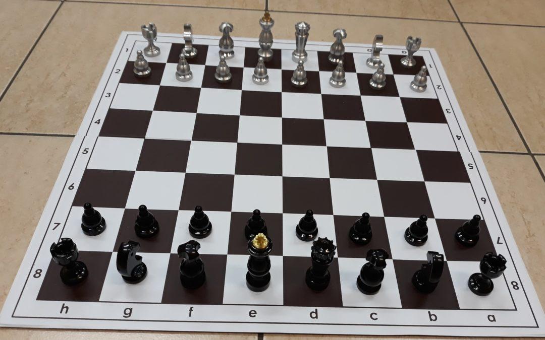 Bierki szachowe – kolejny projekt naszych kursantów.